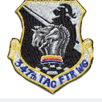 347th Tactical Fighter Wing Emblem