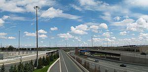 400-series highways - Image: 409 427 Interchange