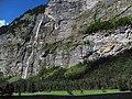 4673 - Lauterbrunnental - Wasserfälle viewed from Morgengabe.JPG