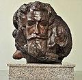 4 Museo Casa Quiroga Mausoleo - Escultura tallada en raíz de algarrobo por Stephan Erzia.JPG