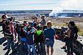 4th graders with Sen. Hirono learn about Kīlauea volcano (30832185396).jpg