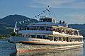 50 Jahre MS Helvetia & 100 Jahre Dampfschiff Stadt Rapperwil - Hafenfest Rapperswil - 'Rosenempfang' 2014-05-23 19-41-16.JPG