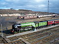 60163 Tornado 12 March 2009 Tyne Yard pic 12.jpg