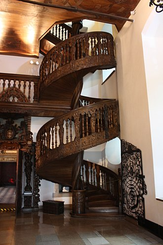 Loretto Chapel - Spiral stairs of Gdańsk Town Hall