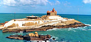 Kanyakumari is the southernmost point in mainland India.