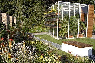 Tatton Park Flower Show - Image: 803. TP A Healthy Future englandsnorthwest (Jul 2006)