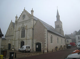The church of Saint-Laurent, in Montlouis-sur-Loire