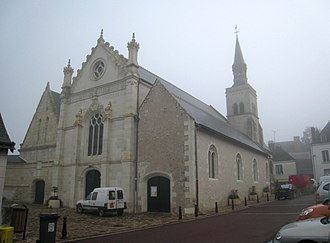 Montlouis-sur-Loire - The church of Saint-Laurent, in Montlouis-sur-Loire
