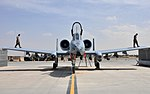 A-10 Thunderbolt II of the U.S. Air Force at Kandahar International Airport in 2019.jpg