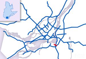 Quebec Autoroute 930 - Image: A 930