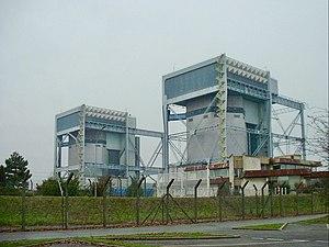UNGG reactor - Two UNGG reactors at Saint-Laurent Nuclear Power Plant