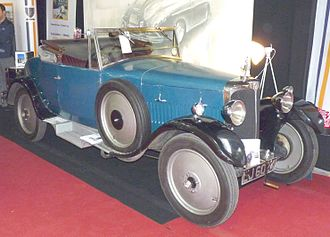 AC Cars - AC 12 Royal drophead coupé 1926