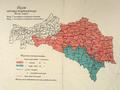 AGAD Mapa Galicji – Projekt sejmowych okręgów wyborczych – Kurya wiejska.png