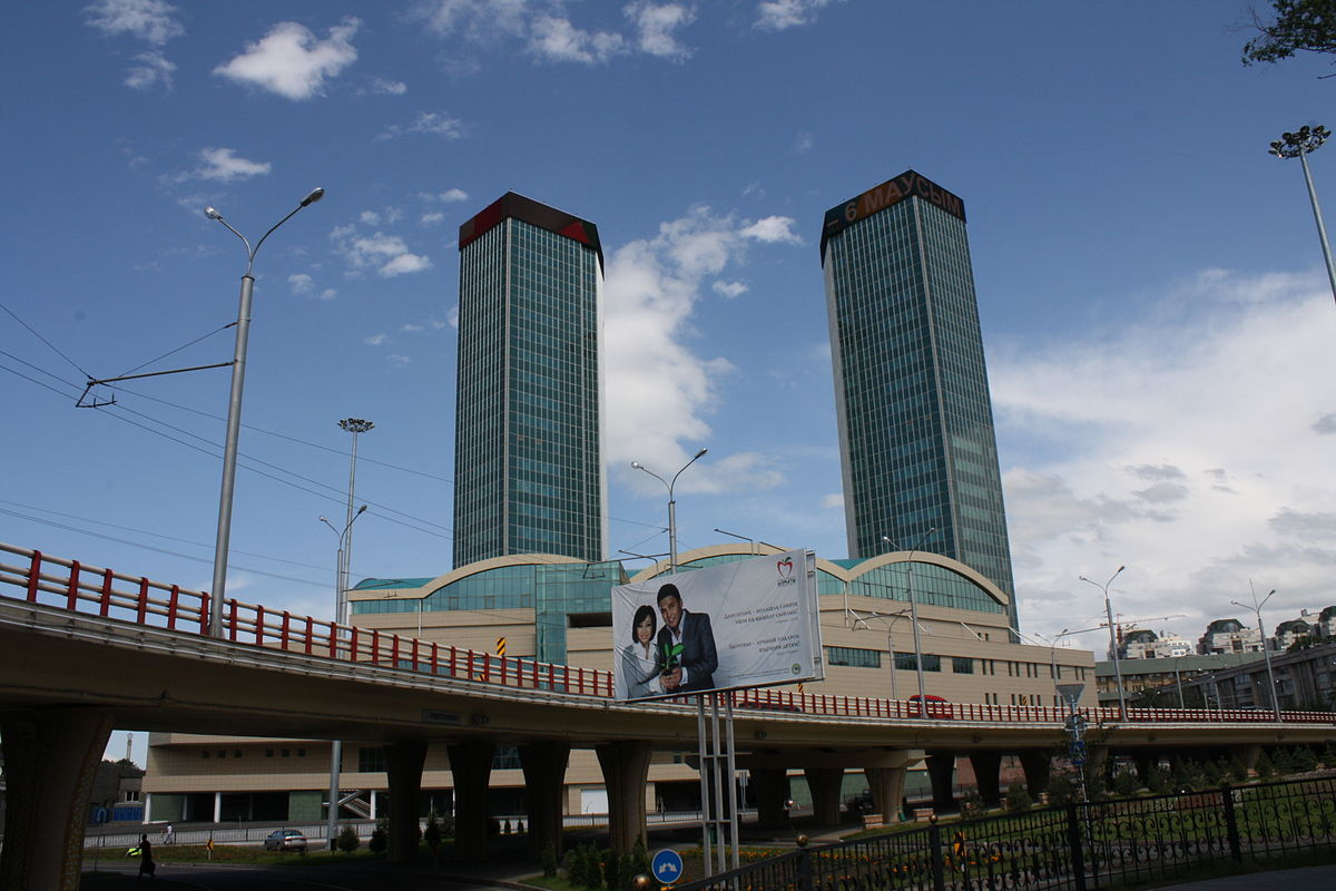 Almaty Towers Wikipedia