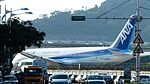 ANA Boeing 787-8 JA832A Departure from Taipei Songshan Airport 20160821.jpg