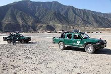 ANP trucks in Kunar