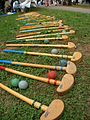 ASICS's wood clubs for Ground Golf and balls in Japan.jpg