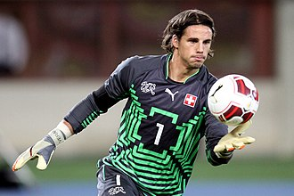 Yann Sommer - Sommer playing for Switzerland in November 2015