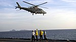 AW-109 Takes Off from the USS Ashland during KAMANDAG 2.jpg