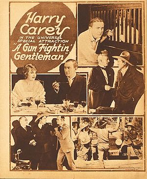 A Gun Fightin' Gentleman - Film poster