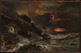 A Storm off the Normandy Coast