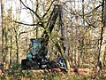 A Tree Felling Tractor at work in the Wendover Woods - geograph.org.uk - 1185819.jpg