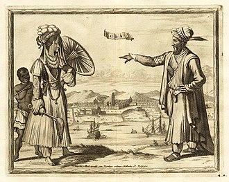 Pieter van der Aa - Image: A lady and gentleman of Goa