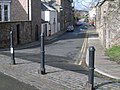 A load of bollards, city walls - geograph.org.uk - 741457.jpg