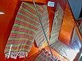 """A piece of cloth made of bark fiber """"Kerang"""" (Kerongo) at Tribal Museum, Koraput.jpg"""