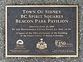 A plaque by Sidney Amphitheatre, Sidney, British Columbia, Canada 10.jpg