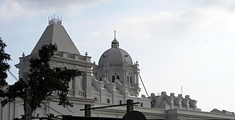 Ujjayanta Palace - Image: A view from a different angle of the Palace