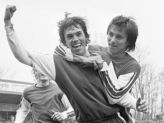 Bert van Marwijk - Van Marwijk in 1976