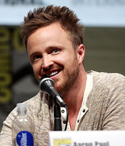 Aaron Paul vid San Diego Comic-Con International 2013.