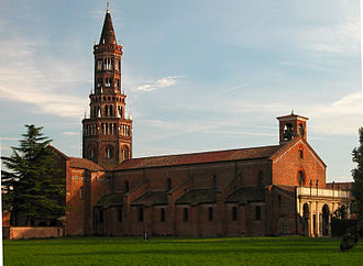 Parco Agricolo Sud Milano - The Chiaravalle Abbey is the prominent historical monument within the park area