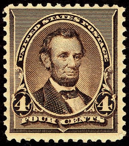 Abraham Lincoln 1890 Issue-4c