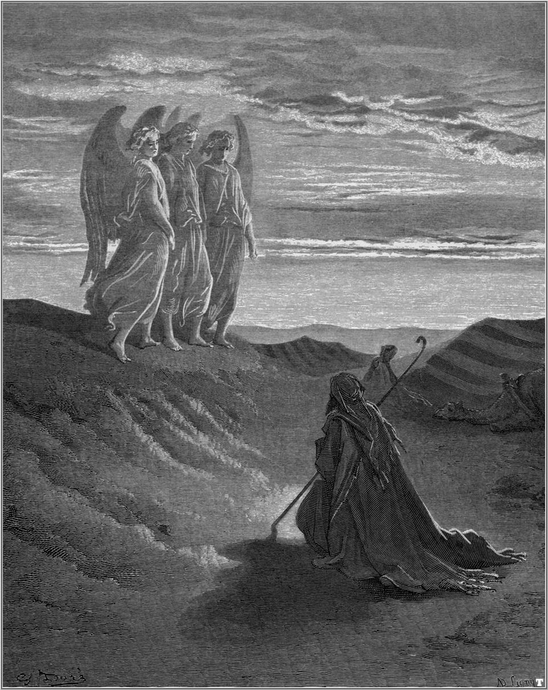 heti szakasz oktober 23-an: Vájérá (1Mózes 18–22.)