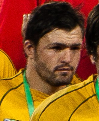 Adam Ashley-Cooper - Ashley-Cooper with Australia in 2011
