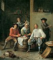 Adriaen Rombouts - Peasants at their meal.jpg