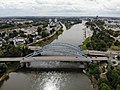 Aerial photograph of Jerusalembrücke Magdeburg 01.jpg