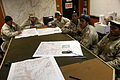 Afghan National Army patrolmen with the Provincial Response Company, Task Unit Wardak participate in a land navigation class at Forward Operating Base Airborne in Wardak province, Afghanistan, March 15, 2014 140315-A-WF450-006.jpg
