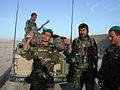 Afghan soldiers show captured opium in Farah -a.jpg