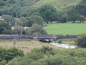 Afon Llyfni - Afon Llyfni at the outflow of Llyn Nantlle Uchaf.