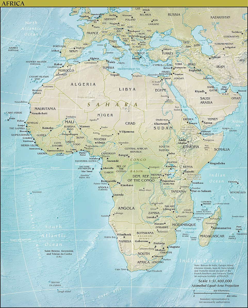 FileAfrica physical mapjpg Wikimedia Commons