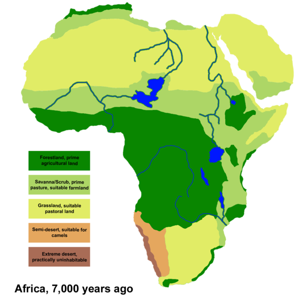 africa today and 7000 years ago somalinet forums