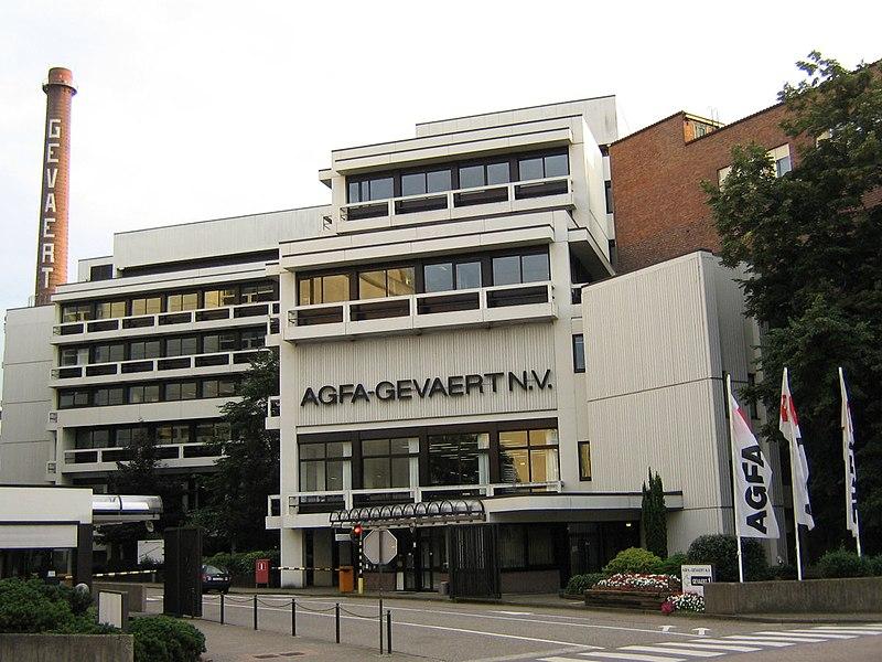 Fabriek Agfa-Gevaert in Mortsel