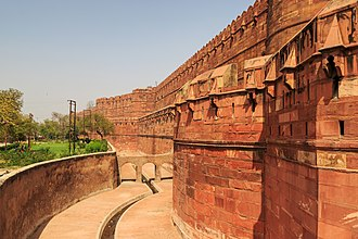 Hemu - Agra Fort, captured by Hemu before the Battle of Tughlaqabad.