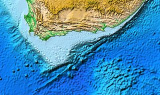 Agulhas Bank The broad southernmost part of the African continental shelf