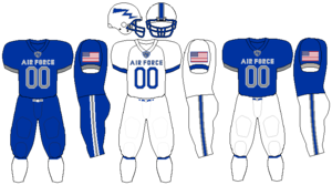 Air Force Falcons football - Image: Air Force Falcons 2015 Uniforms
