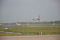 Air India Flight Takes Off - Runway 11-29 - Indira Gandhi International Airport - New Delhi 2016-08-08 9246.JPG