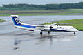 Air Nippon Network Bombardier DHC-8-402 (JA846A 4097) (5011875906).jpg